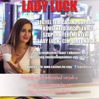 Lady Luck 2018 - a Casino Sopron arca